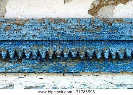 Old Wooden Jamb Texture