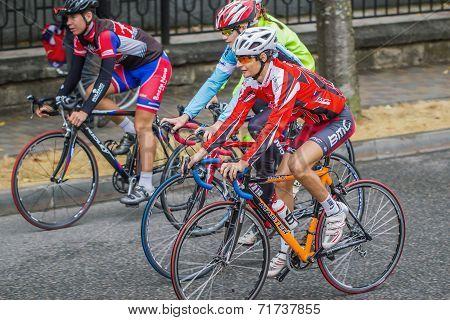 Three Cyclist.