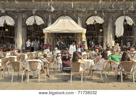 Coffee Bar In Venice