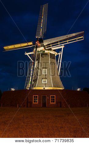 Bataafse molen in Winterswijk Nederland