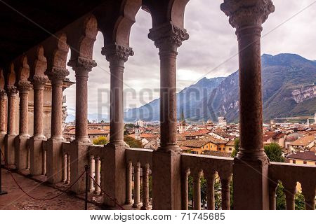 Balcony in Trento