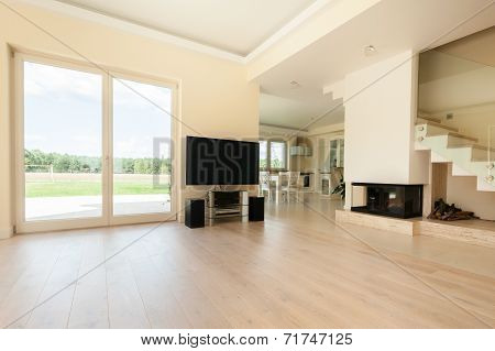 Spacious Bright Living Room