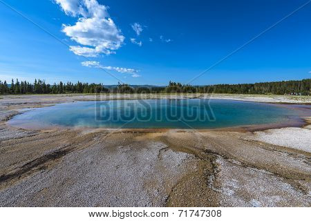 Opal Pool Yellowstone