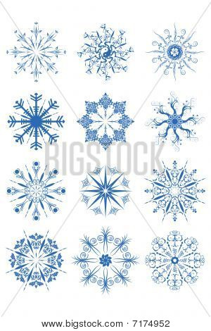 Decorative Snowflake Ornaments
