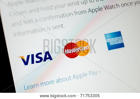 Apple Computers Website Announci Apple Pay