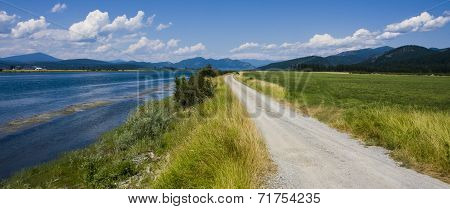 Pend Oreille River Road