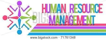 Human Resource Management Colorful