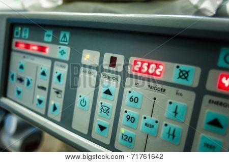 Lithotripter Control Panel
