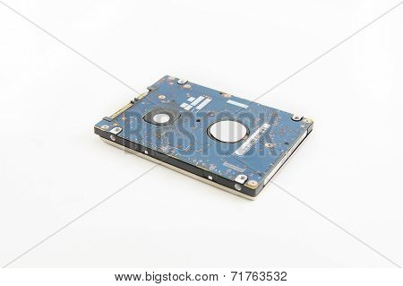 Harddisk in white background