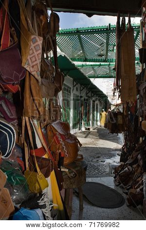 Moroccan Leather Crafts
