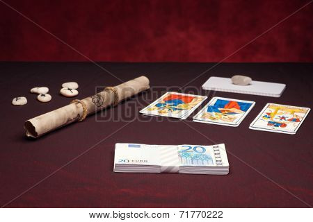 Clairvoyance Equipment With Money