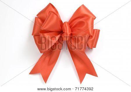 Vibrant Orange Bow Or Ribbon