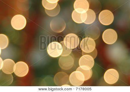 Off Focus Holiday Lights