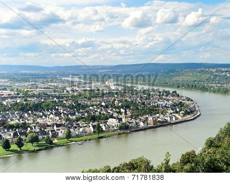 View Of Koblenz City, Germany