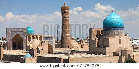 Panoramic View Of Bukhara From Ark - Uzbekistan