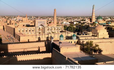 Evening View Of Khiva - Uzbekistan