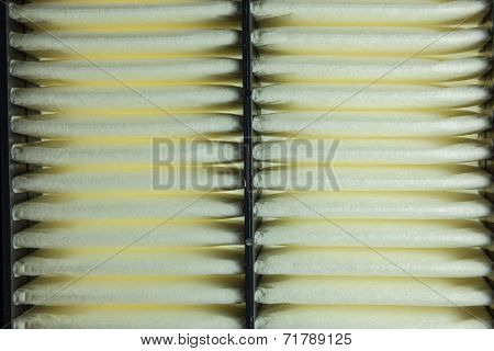 Cloes Up Engine Air Filter
