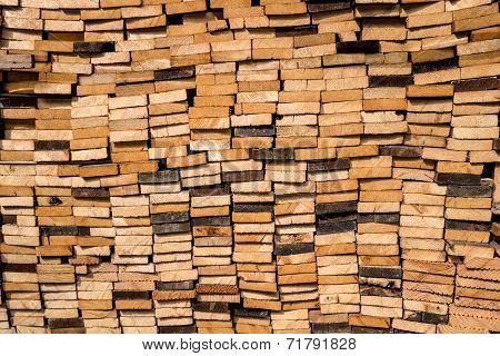 Piled boards