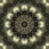 stock photo of kaleidoscope  - Old metallic - JPG