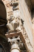 foto of masterpiece  - Detail of ancient porch of the Basilica of San Zeno  - JPG