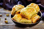 picture of baklava  - baklava with pistachio - JPG