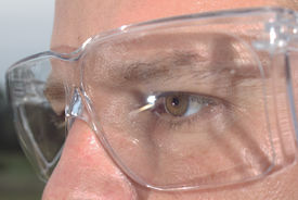 stock photo of ppe  - safety glasses ppe personal protective equipment industrial - JPG