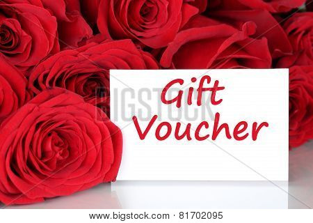 Gift Voucher For Birthday, Valentine's Or Mothers Day