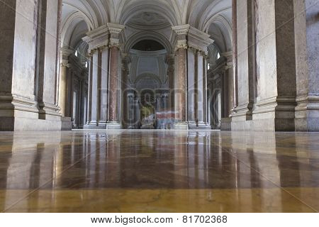 Caserta Royal Palace the honour Grand Staircase foyer
