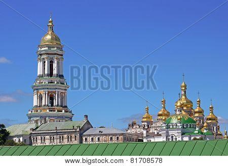 View Of Kiev Pechersk Lavra Orthodox Monastery In Kyiv, Ukraine