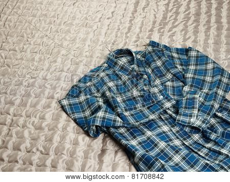 Checkered Flannel Shirt