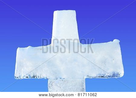 Ice Cross For Baptism