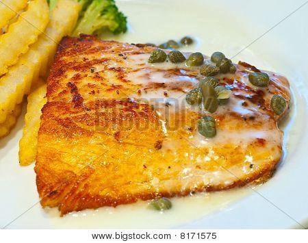 Salmon Steak 1