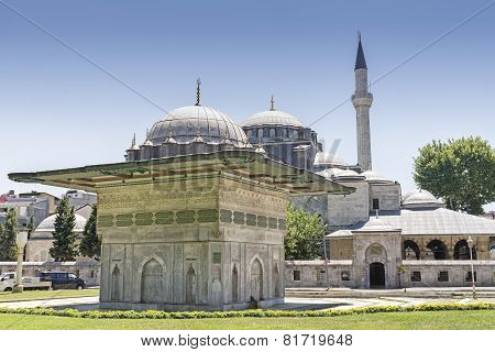 Fountain of Kilic Ali Pasha Mosque, Istanbul, Turkey