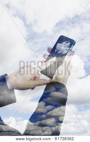 Smart phone and the cloud