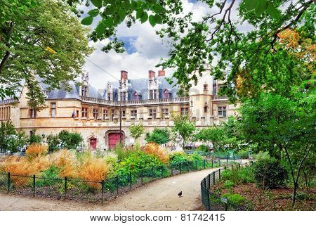 Mansion and the thermae of Cluny .Paris. France