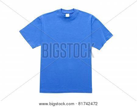 T-Shirt Blue Flat