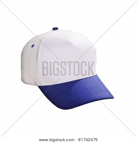 Baseball Cap Blue Isolated