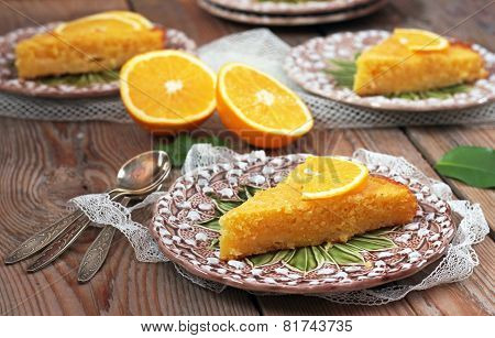 Polenta And Lemon Butter Cake