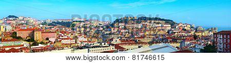Lisbon Sunny Panorama