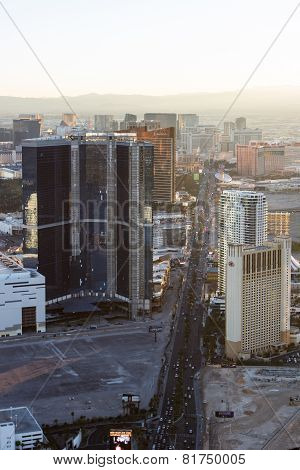 Las Vegas From The Statosphere