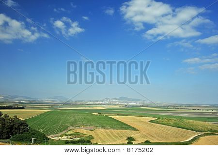 Valley of Jezreel from Megiddo