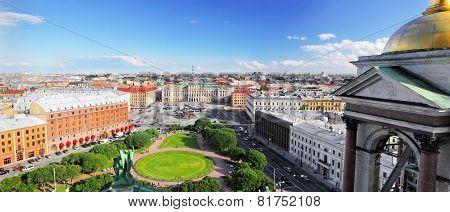 View on of St. Petersburg c