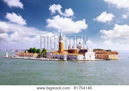 Seaview Of Venice, Italy . Panorama
