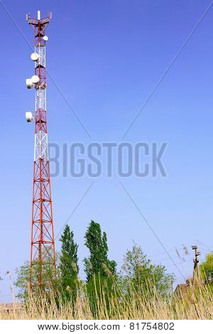 Radio Relay Link, Mobile Base Station.