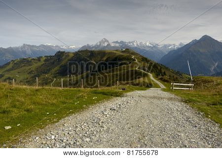 fantastic mountain bike trail