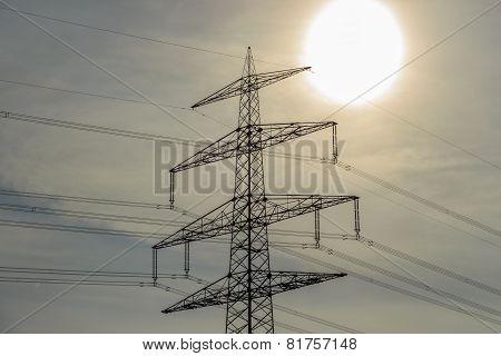 Electricity pylon