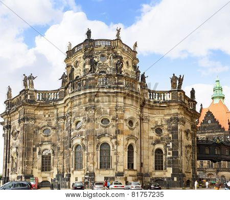 Katholische Hofkirche-catholic Church, Dresden