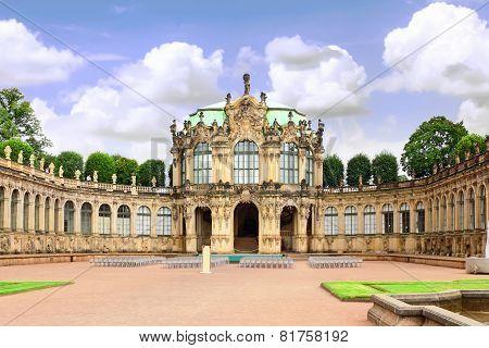 Zwinger Palace (der Dresdner Zwinger) In Dresden