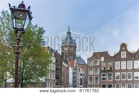 Saint Nicholas Church In Amsterdam, Netherlands