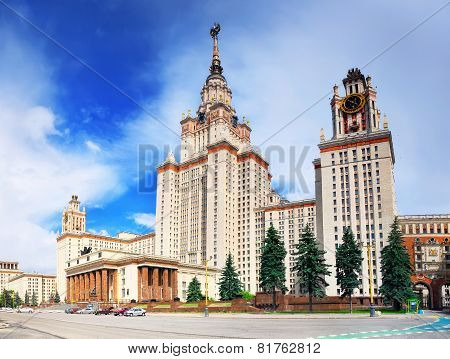 Lomonosov Moscow State University, Main Building